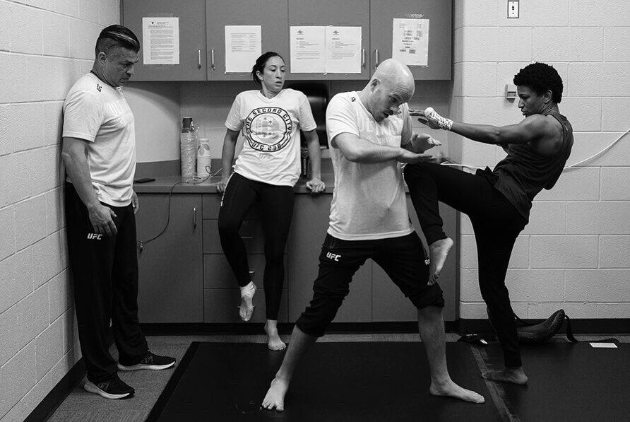 Practice/ Execution #UFC236 📷: @ericcoleman1/ @allelbows
