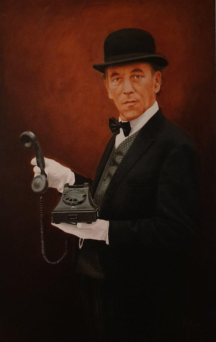 In 2005 geschilderd door #TheoReijnders, ik ben er na 14 jaar nog steeds even blij mee. #ButlerJames