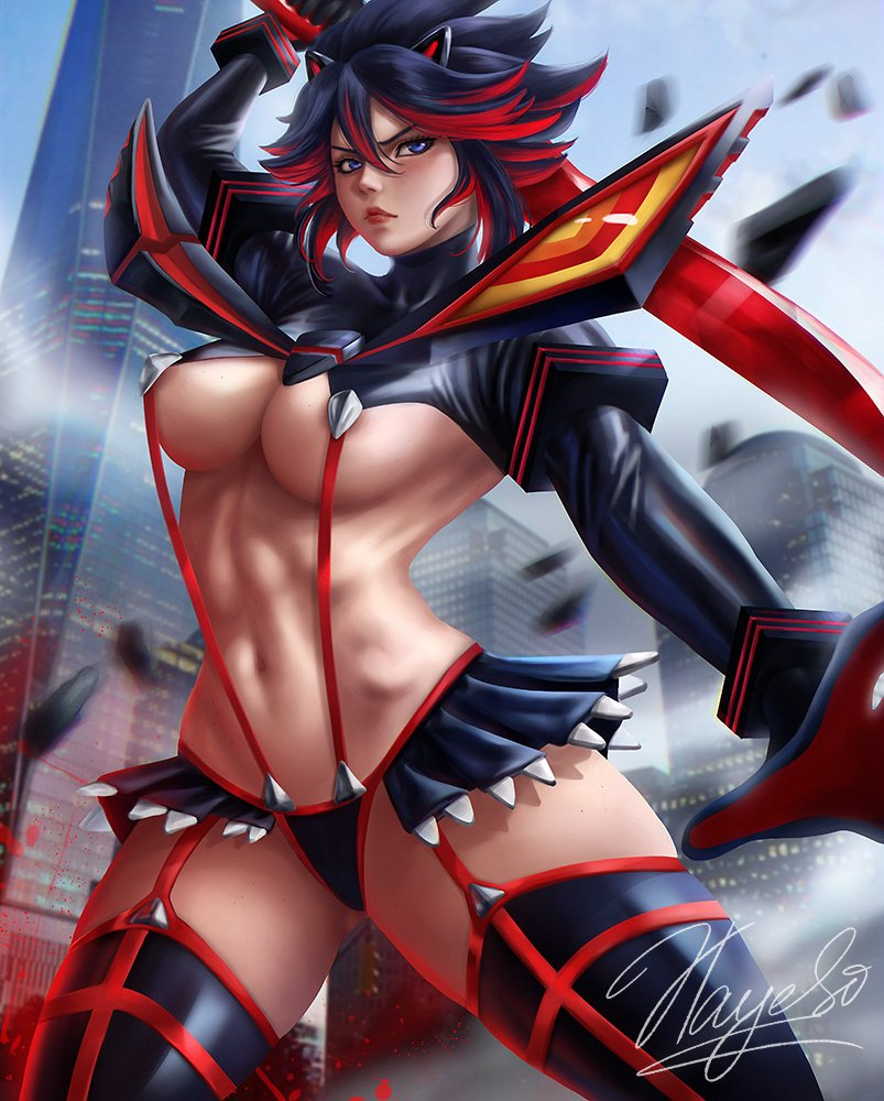 Hayes Irina On Twitter Fan Art Of Ryuko Matoi From