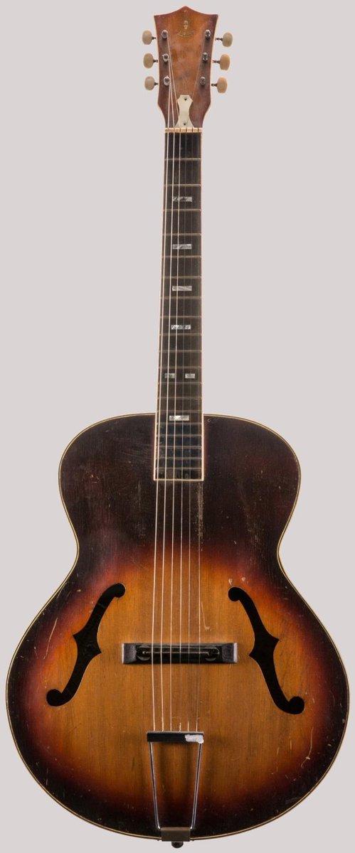 kiso Fukushima archtop guitar
