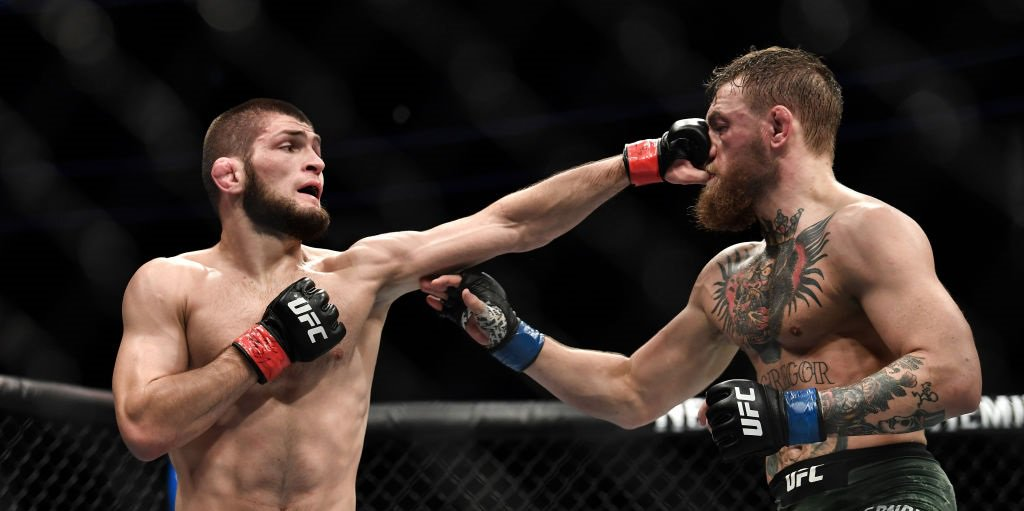 """He begged me 'please don't kill me'.""Khabib Nurmagomedov has had plenty to say on Conor McGregor.Read: https://bbc.in/2wPZZFH"