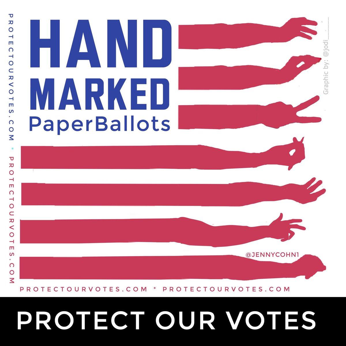 #HandMarkedPaperBallots 10/