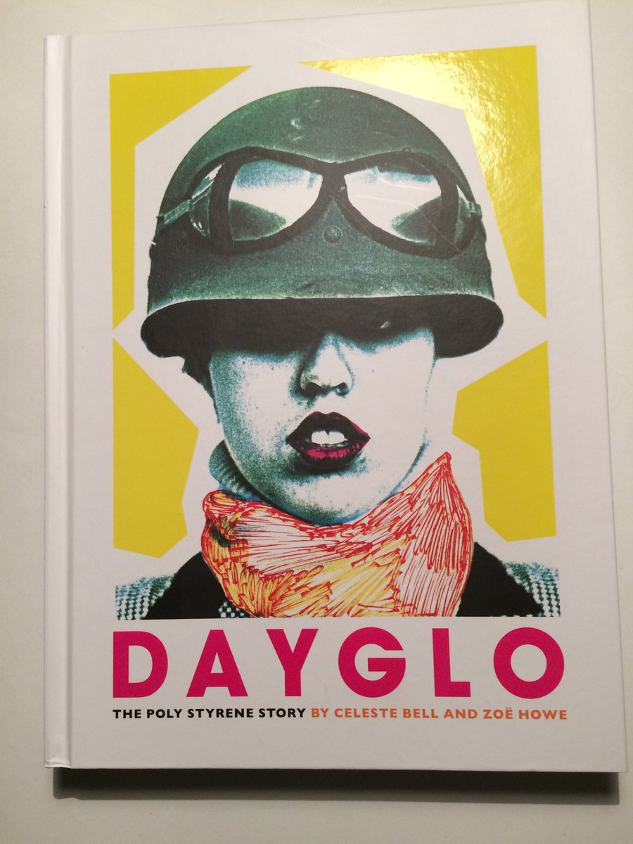 Lovely hearing @celestiebell talk about her mum - giving props to @decolonisefest and #diy creativity - looking forward to borrowing #DayGlo from @lamlibs and to seeing the @PolyStyrenefilm