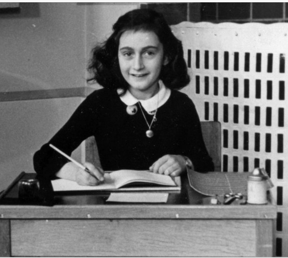 """Human greatness does not lie in wealth or power, but in character & goodness""  #AnneFrank #AnneFrank90 #neverforget<br>http://pic.twitter.com/xpZIKZobQq"