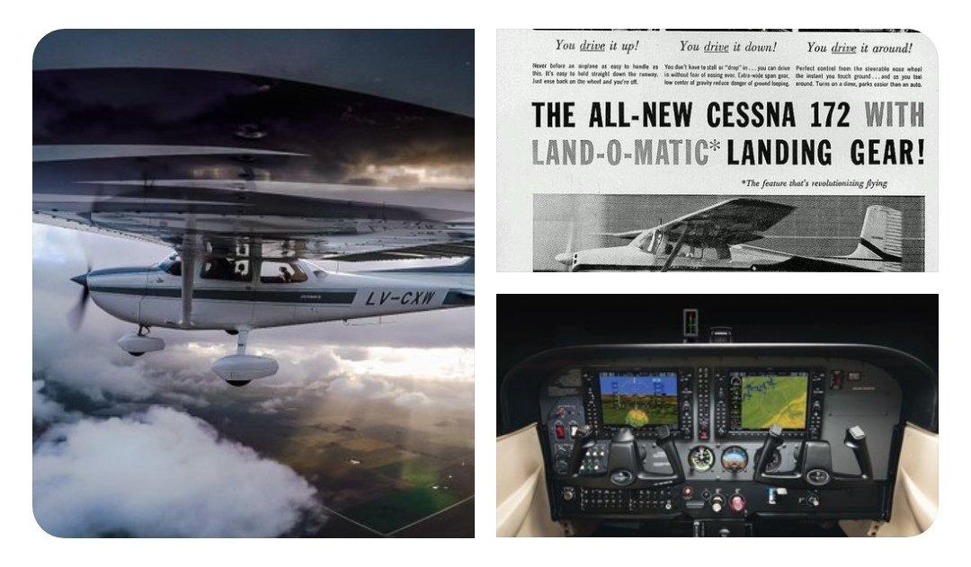 Un día como hoy pero de 1955, volaba por primera vez el #CessnaSkyhawk. En su 64° Aniversario @Cessna público tres imágenes, una de ellas es el #Cessna172 LV-CXW del Aeroclub Tres Arroyos!!! 💪🇦🇷 📲 https://twitter.com/Cessna/status/1138808299598548992?s=19…