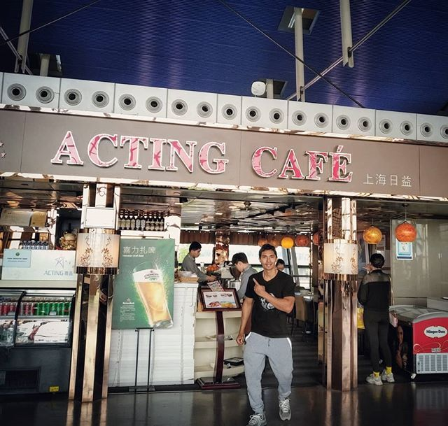 #actorslife #happyhumpday #actingcafe #actingcafé little did they know.. That they had a real actor have a meal in Acting Cafe in Pudong, Shanghai ☝️🔥😎🤴 . . . . . . . . #humpday #actorlife #worldtraveler #homeawayfromhome #beautifuldestinations #acto… http://bit.ly/2F6Tvqz