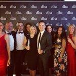 The winning team! Taking home gold for @QuornFoods @dbaHQ #dbaDEA #proudaspunch #winner #designeffectiveness