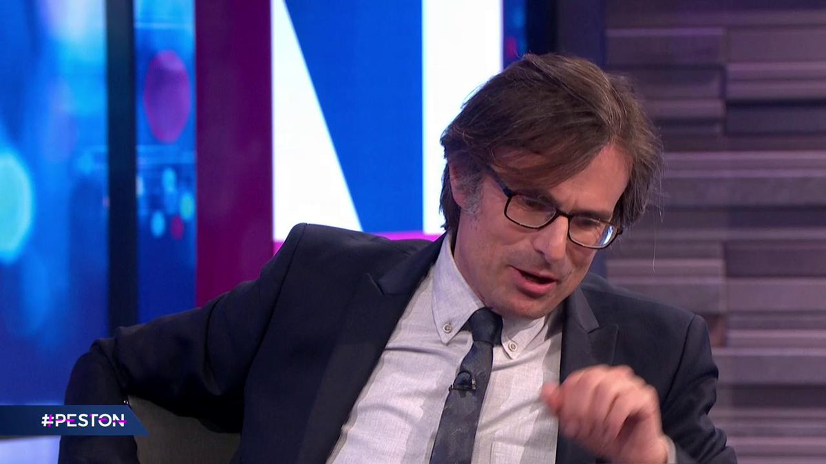 """My mum did say that to me earlier tonight…"" Peston asks @andrealeadsom if its time to take the gloves off in the Tory leadership race? #Peston"