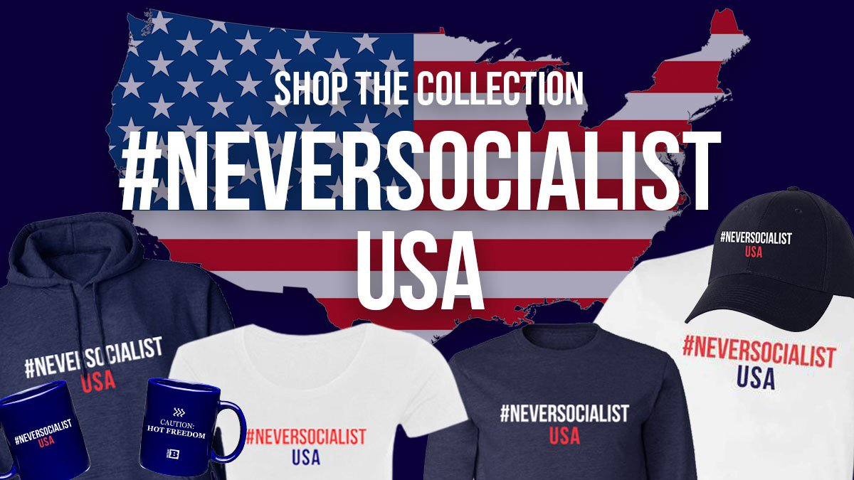 Reminder for Breadline Bernie: With capitalism, the bread waits for you. @BreitbartNews  https:// store.breitbart.com/collections/ne versocialist-usa  …  #NeverSocialism <br>http://pic.twitter.com/3ZUZ8AHhPY