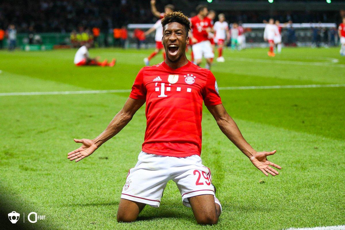Joyeux anniversaire à Kingsley Coman qui fête aujourd'hui ses 23 ans. 🎂  🏆🏆 Ligue 1 🇫🇷 🏆 Trophée des Champions 🇫🇷 🏆🏆 Serie A 🇮🇹 🏆 Coupe d'Italie 🇮🇹 🏆 Supercoupe d'Italie 🇮🇹 🏆🏆🏆 Bundesliga 🇩🇪 🏆🏆 Coupe d'Allemagne 🇩🇪 🏆🏆🏆 Supercoupe d'Allemagne 🇩🇪