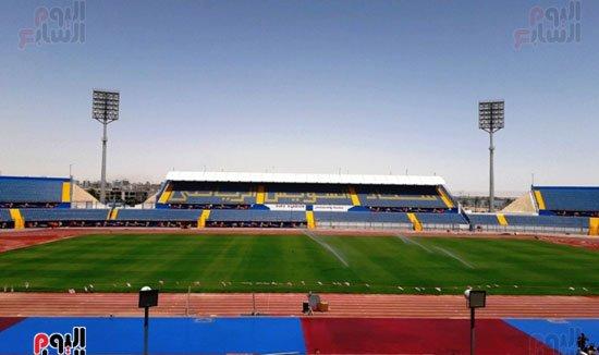 استاد السويس الرياضى فى أبهى صورة استعدادًا لاستضافة مباريات تونس ومالى وموريتانيا وأنجولا ببطولة #أمم_أفريقياhttps://bit.ly/2KeQ7hk