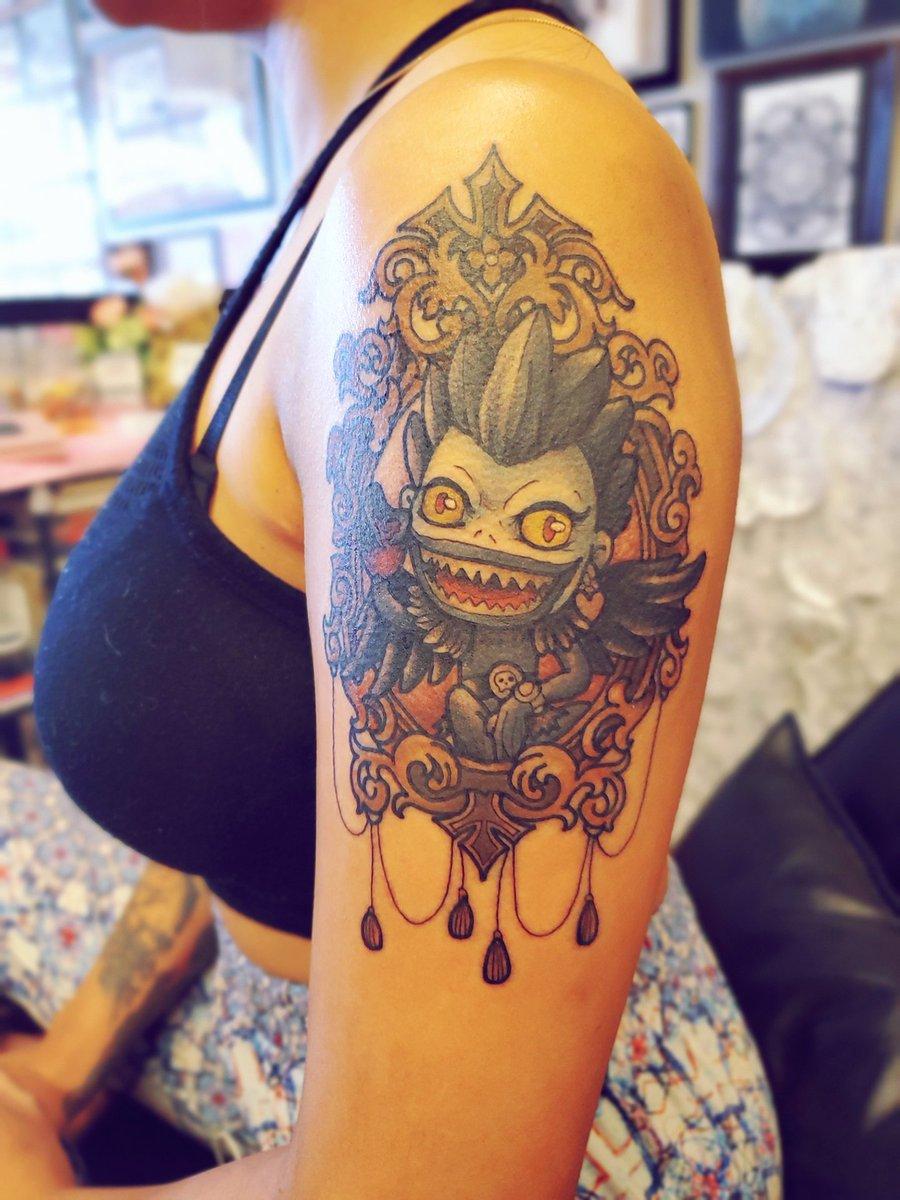 test Twitter Media - Ryuk Death note tattoo https://t.co/tiM2UemoQT