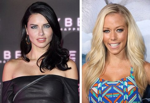 HAPPY BIRTHDAY  Adriana Lima  and  Kendra Wilkinson