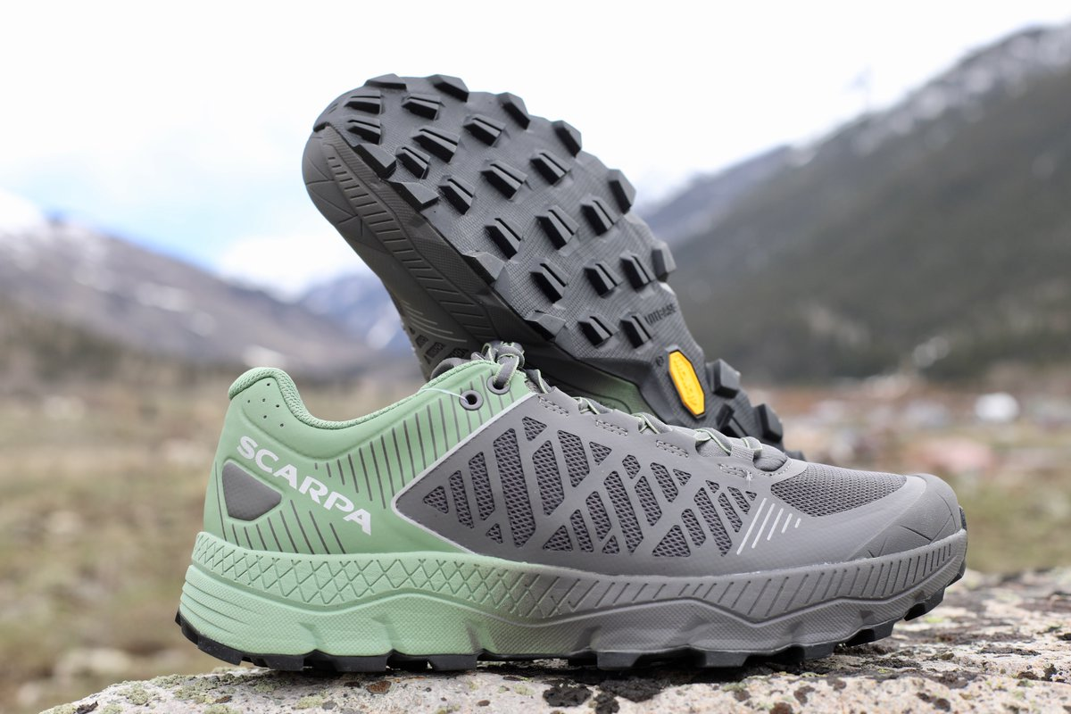Protection, cushioning, and a grippy outsole all in one shoe: our review of the Scarpa Spin Ultra. i-rn.fr/ScarpaSpinUltra