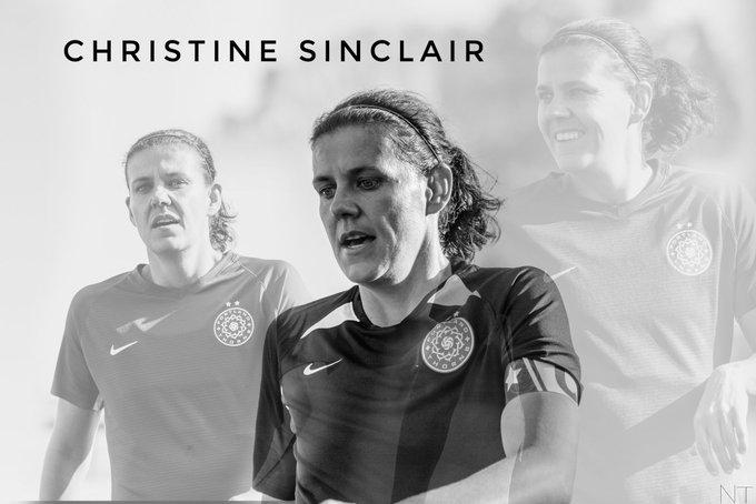 Happy Birthday Christine Sinclair
