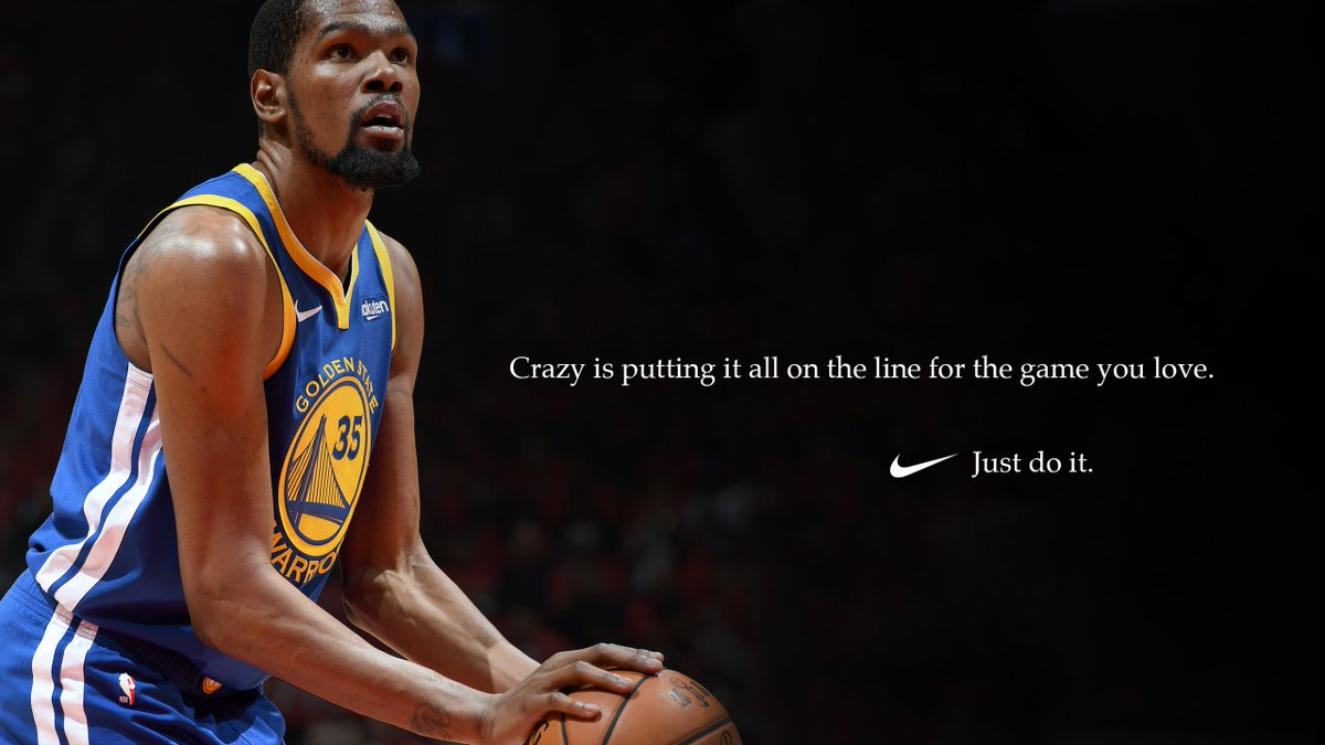 We know who you are. #justdoit