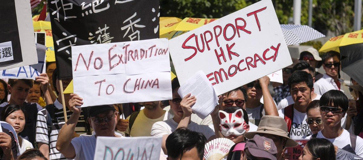 #HongKongProtests Retweet if you Support the people of Hong Kong