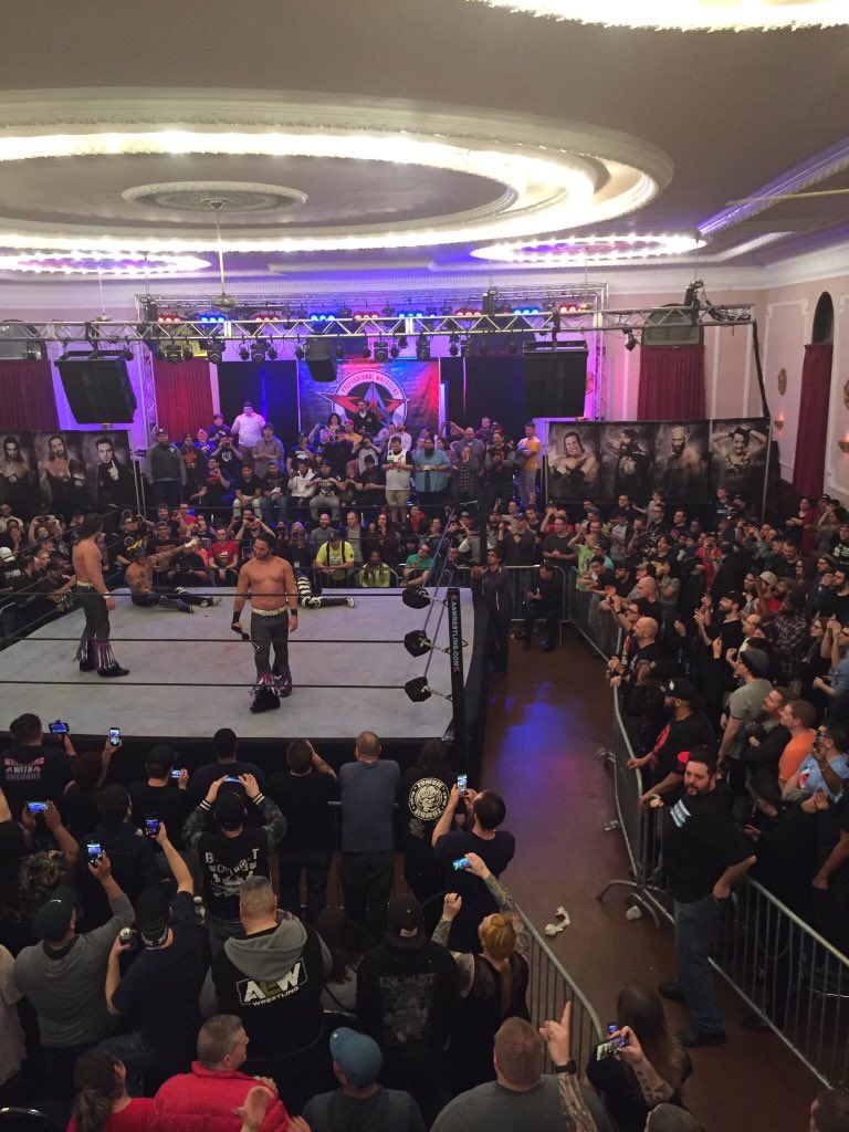 Thank you Danny and everyone at AAW Pro. Here's to many more awesome years. Fan for life. Grateful to have it here in Chicago. Incredible memories.
