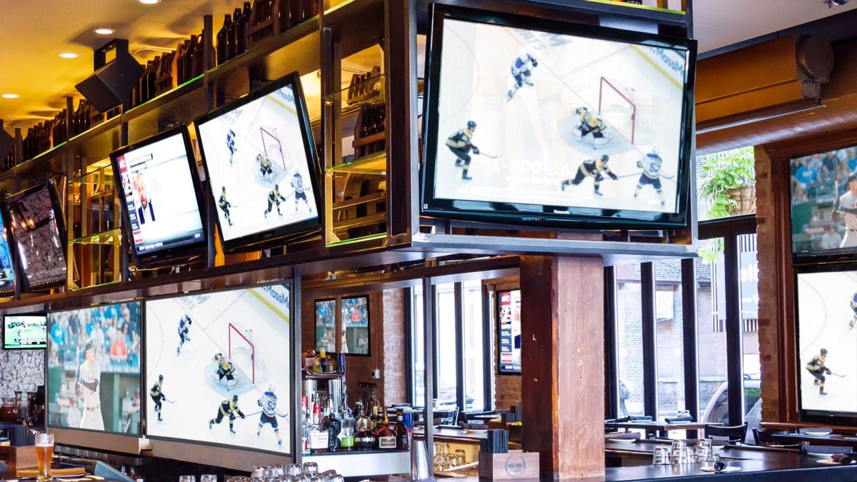 Sports Bar Makes More Room For TVs By Getting Rid Of Tables, Chairs, Bartenders, Customers https://trib.al/4wC20f1