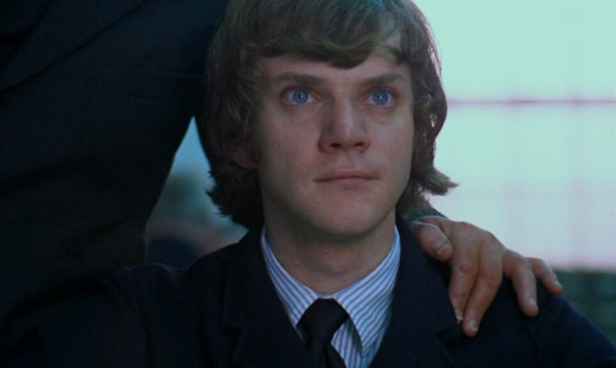 Happy birthday to my great droog, Malcolm McDowell !!