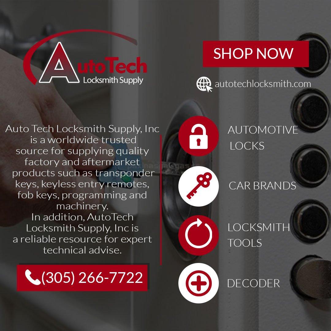 Auto Tech Locksmith Supply, Inc  (@AutoTech_LS) | Twitter