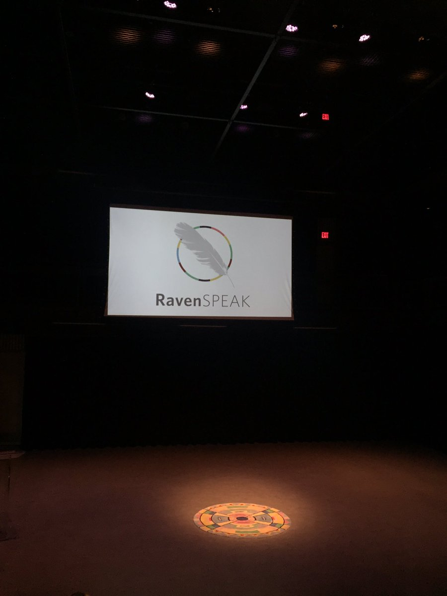 My journey continues this evening to participate in community and learn from leaders within it to educate myself Thank you @RavenInstitute for gathering us for #RavenSPEAK #AMPLIFIED 🙏