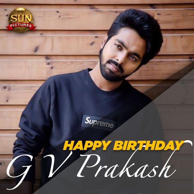 Happy Birthday GV Prakash Kumar