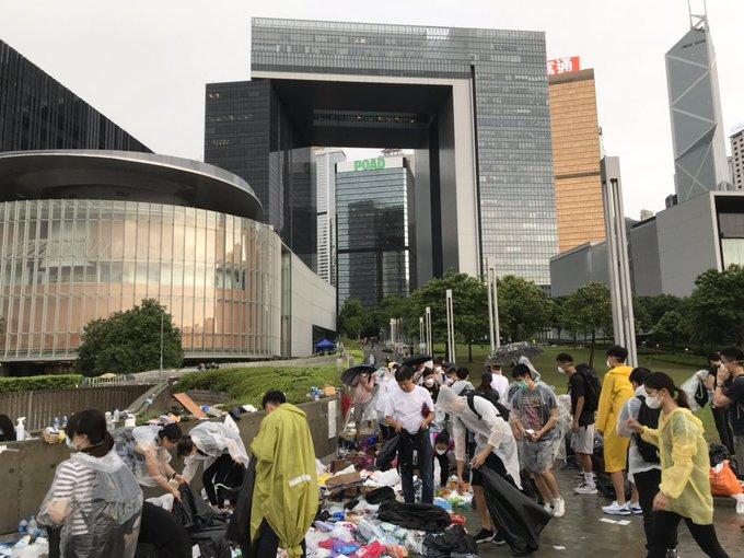 biểu tình Hồng Kông