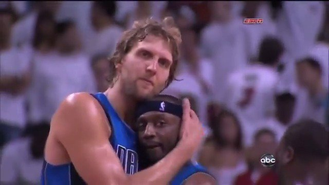 8 years ago today, Dirk and the Mavs upset the Heat to capture their first title