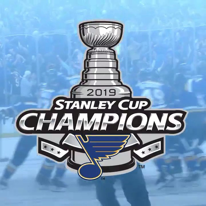 ST. LOUIS, THE CUP IS OURS!!!!!! #WeAllBleedBlue #stlblues