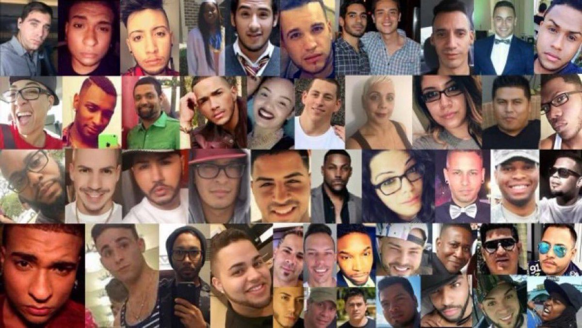 @Andy @LisaVanderpump @cathy_mylife @LadyRai43922504 @EllaMacavoy @Brightly50 @maddow Remembering: Three years ago today, the world lost 49 precious souls at Pulse Night Club in Orlando. Let's remember them and their families this week! We'll never forget you! 🌈👩❤️💋👩👨❤️💋👨