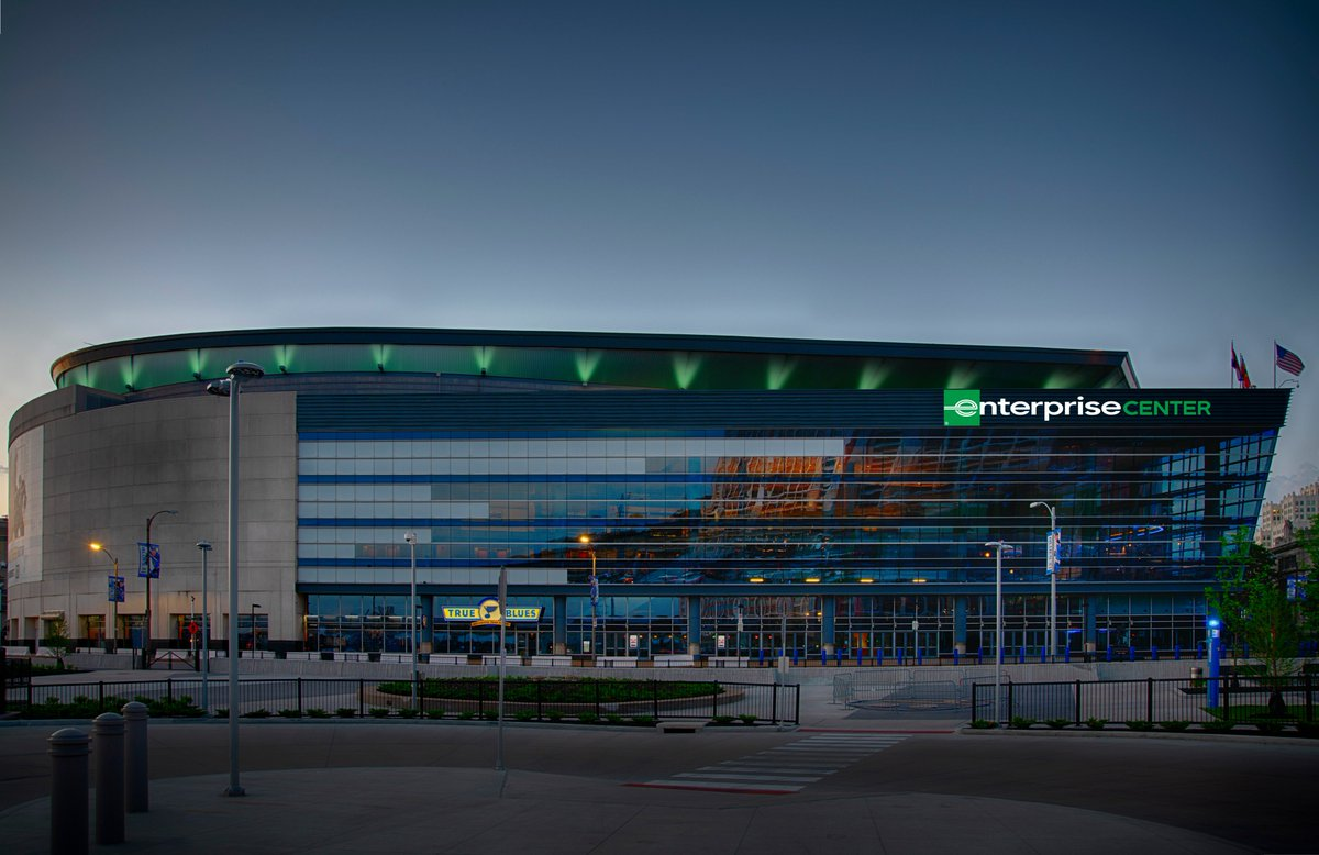 Before the season started, @Enterprise and the @StLouisBlues signed a 15-year naming rights agreement.  Not sure if you can ask for a better first year of a deal.