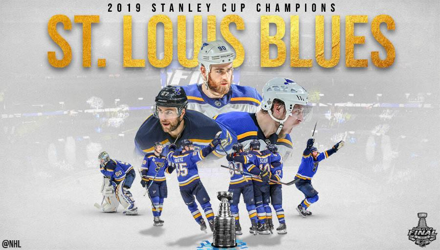 RT @NHL: THE @StLouisBlues HAVE WON THEIR FIRST #StanleyCup! https://t.co/bAgshgwlNn