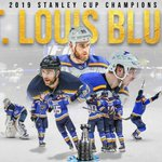 THE @StLouisBlues HAVE WON THEIR FIRST #StanleyCup!