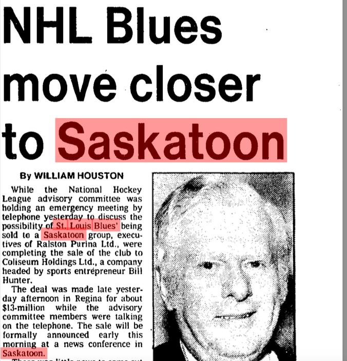 Coulda been you, Saskatoon. (Globe and Mail, April 20, 1983)