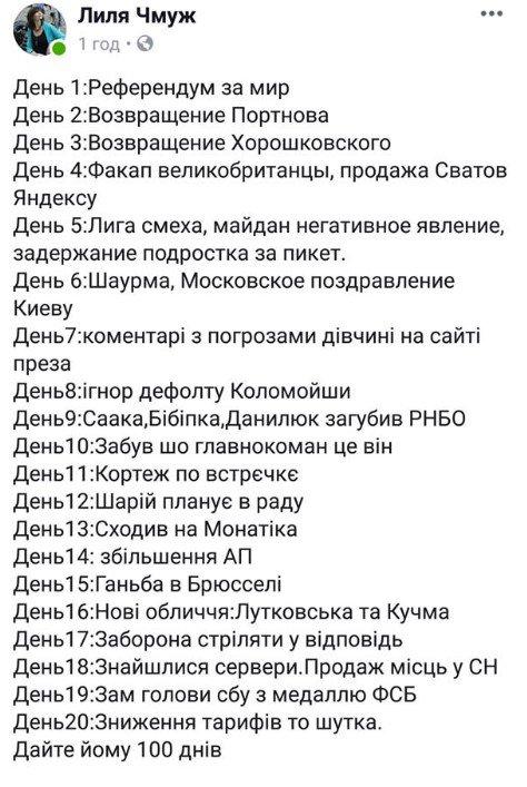 Зеленский признал противоправную бездеятельность Порошенко, который не выдал указ о назначения Ларисы Гольник судьей полтавского суда - Цензор.НЕТ 8254
