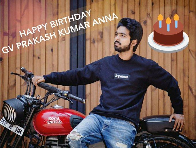 Happy Birthday Gv Prakash Kumar Anna