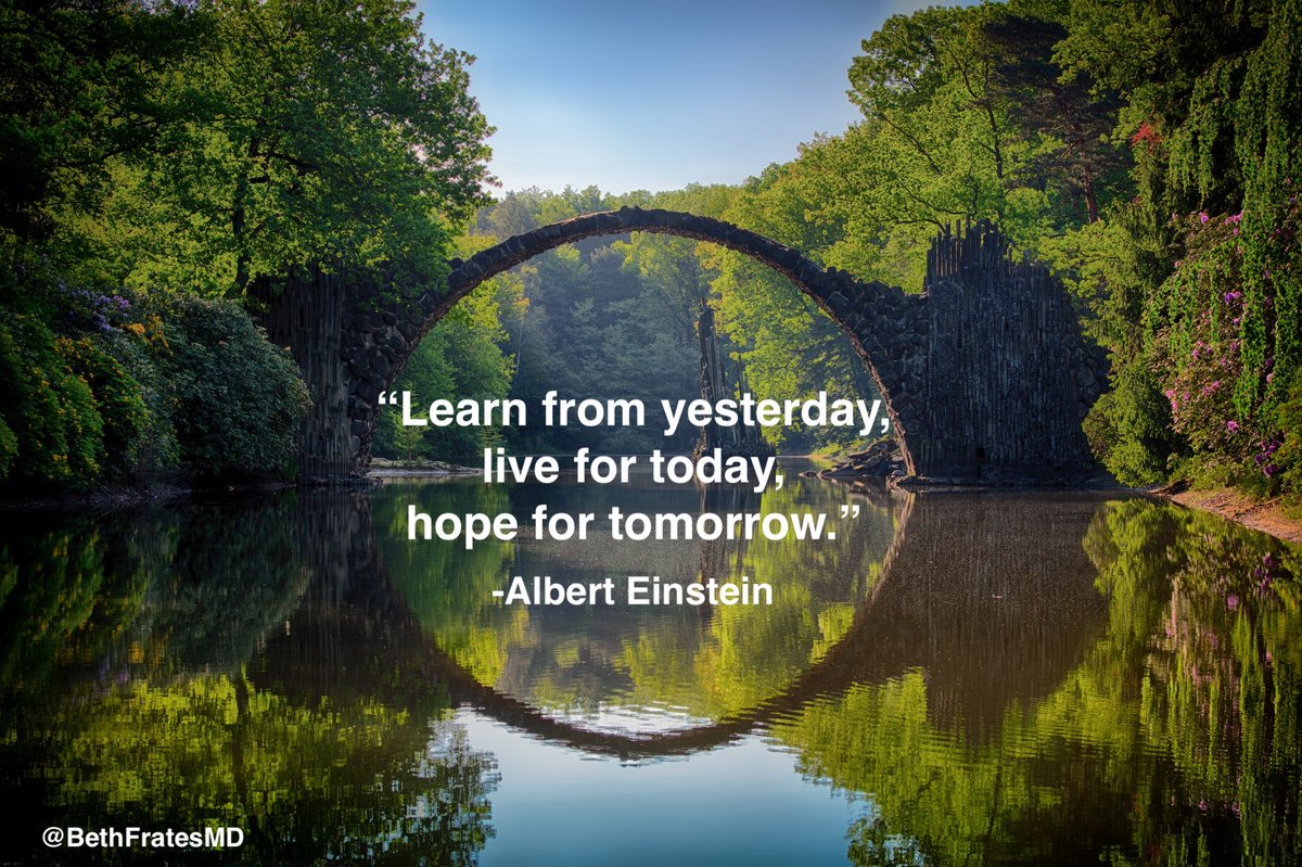 The bridge between yesterday and tomorrow is today.  Today is the present, and the present is a gift, unwrap it, delight in it, + enjoy each moment as much as you possibly can. Today is all we really have... #ThursdayThoughts #mindset #Mindfulness #MindBody #InnerPeace #Happiness