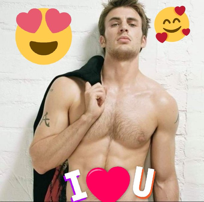 Happy birthday my love    ya 38 years old more sexier you put my love I love you Chris Evans