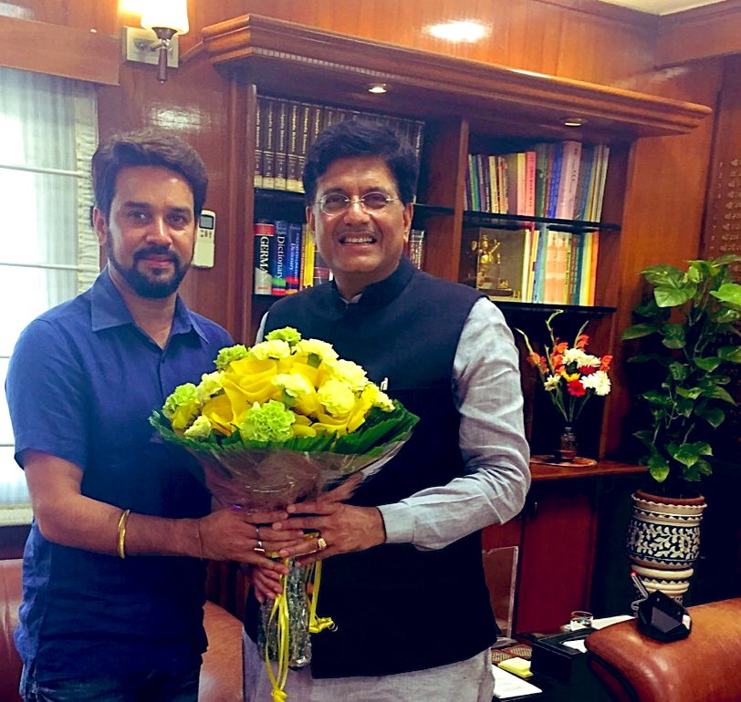 Birthday wishes to Union Minister Sh @PiyushGoyal ji. You brought about remarkable transformation in the last few years and I wish you the best in your new role ! Have a great day !