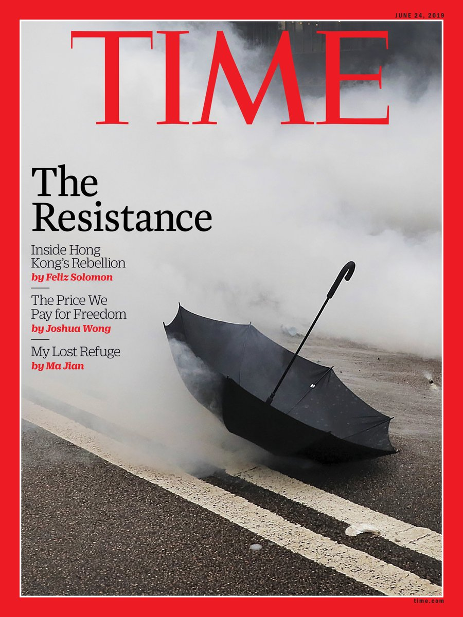 Hong Kong's fight for freedom is on the cover of this week's @TIME Asia edition. Story by me, paired with op-eds by @majian53 and @joshuawongcf, who penned his from prison https://time.com/longform/hong-kong-protests/… https://time.com/5605999/ma-jian-hong-kong-freedom/… https://time.com/5606016/hong-kong-extradition-authoritarianism/…