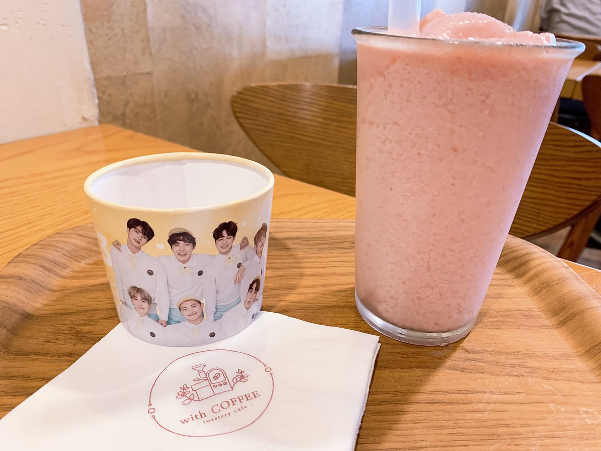 Rest Cafe Army On Twitter Being In Korea For Bts 6th Debut Anniversary Means Many Cute Cafes To Visit This One Is With Coffee In Hongdae Bts6thanniversary 6yearswithourhomebts 방탄6주년보라해 Bts