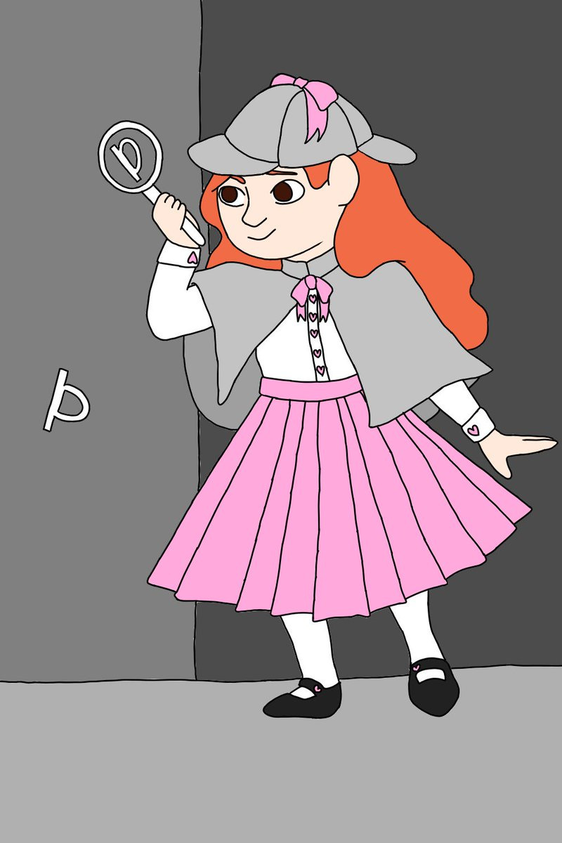 still cleaning up and coloring, but just in case im not done later heres detective sherlock penny!! #snapstreamart <br>http://pic.twitter.com/KIlteQTnxt