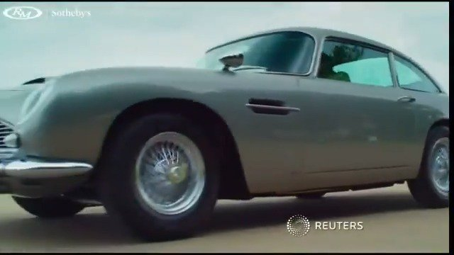 Aston Martin built for James Bond heads to auction