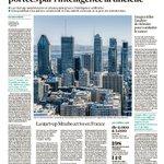 Image for the Tweet beginning: [#mustread] #Montreal capitale mondiale de