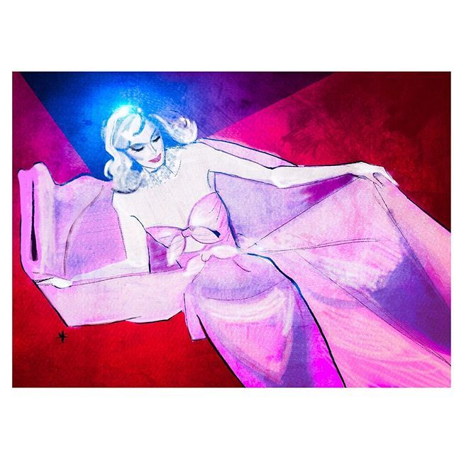 #tbt🔙 stunning @hoskelsa model in @albertaferretti beautiful haute couture pink dress at #cannesfilmfestival2018 📎 illustrations by ©️ @thesevyanthouse_illustrations https://t.co/RnqnJdN5dW