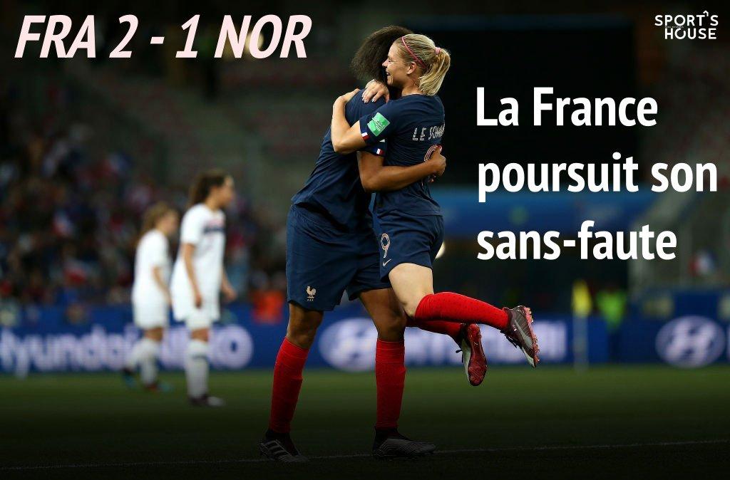 Lendemain de victoire ! 😍 🇫🇷 #FRANOR