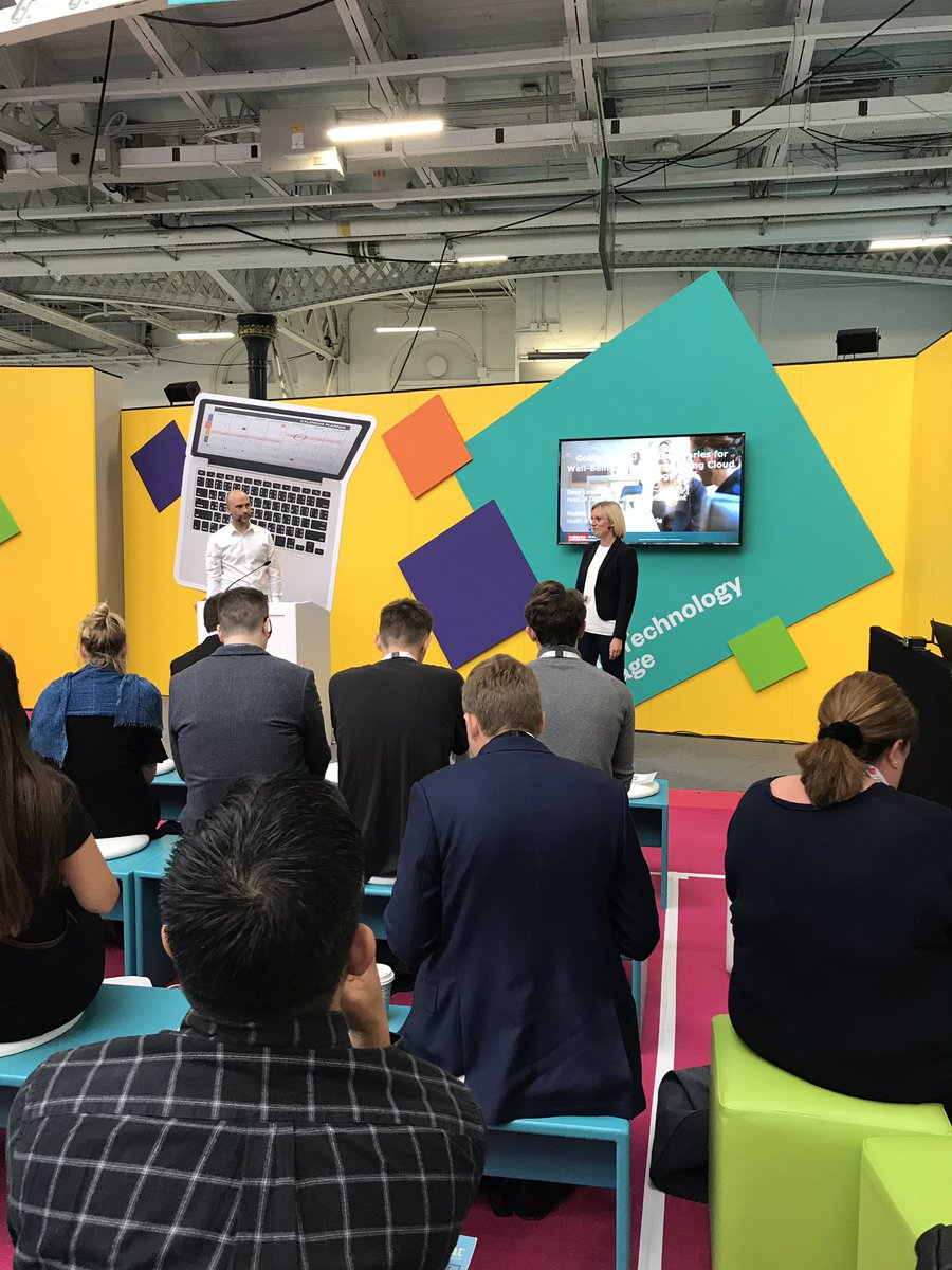Going Beyond the Boundaries for Well-being Programmes using Cloud Technology- this morning's session from @OracleHCM and @TurningPointUK on the HR Technology Stage! #CIPD @FestivalofWork