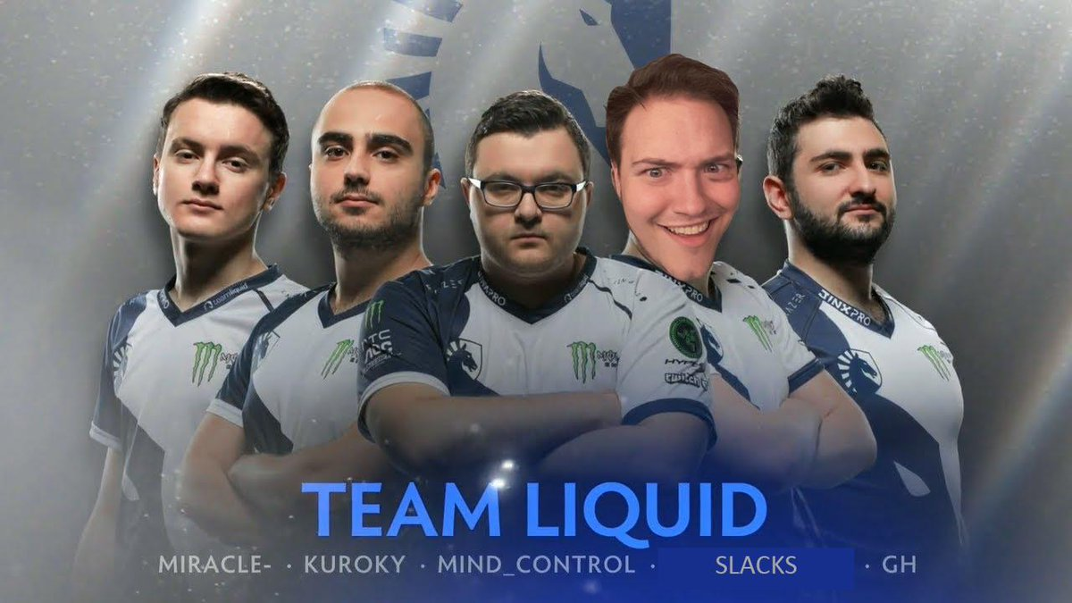 Second place at TI6  Extremely PMA  Uncontested Lore Expert   There can only be one player suitable for @TeamLiquid, and his name is @SirActionSlacks <br>http://pic.twitter.com/phcjFhvGkG