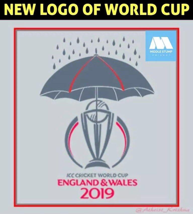 #Cricket VS #rain #ICCWC2019 #INDvsNZ #CricketWorldCup19 #ICC